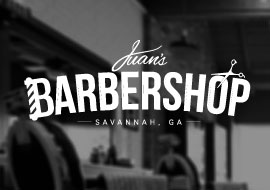 Branding was done for Juan, a Savannah local who is the guy to goto for the best haircuts in town.