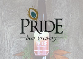 Branding and photography for a beer company, Pride Beer Brewery.